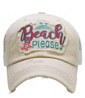 New Arrival :: Wholesale Beach Please Ballcap