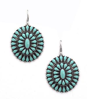 New Arrival :: Colored Concho Earrings
