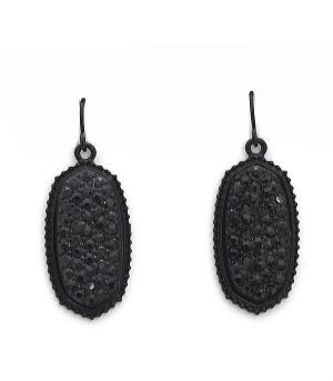 New Arrival :: Rhinestone Pendant Earrings