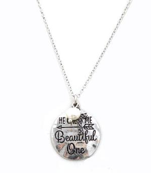 New Arrival :: He Calls Me Beautiful One Necklace Set