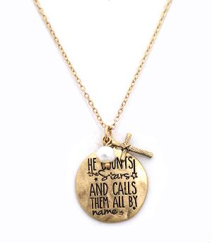 New Arrival :: He Counts The Stars Necklace Set