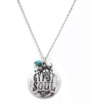 New Arrival :: Blame My Gypsy Soul Necklace Set