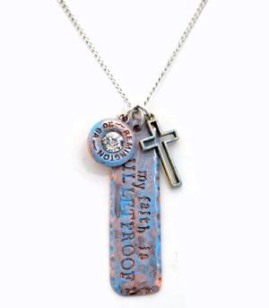 New Arrival :: My Faith Is Bulletproof Necklace Set