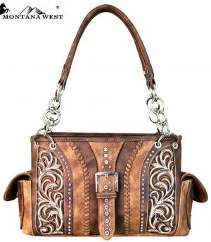 New Arrival :: Montana West Buckle Collection Satchel