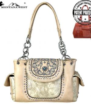 New Arrival :: Montana West Concho Collection Satchel
