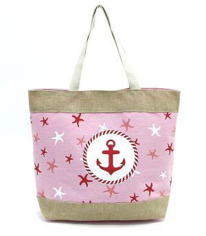 4cd2b3b7b3c6 Wholesale Handbag Fashion Jewelry TRAVEL SHOPPING I MARKET BASKETS MB0014PK  Starfish Print Tote Bag at YKTrading.com