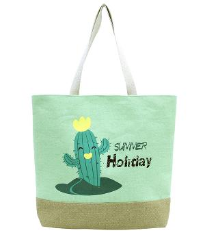 New Arrival :: Summer Holiday Cactus Tote