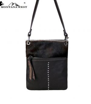New Arrival :: Montana West 100% Real Leather Crossbody