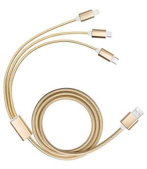 New Arrival :: 3 in 1 Data Transfer/Charging Cable