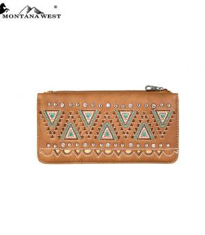 New Arrival :: Montana West Western Aztec Collection Wallet