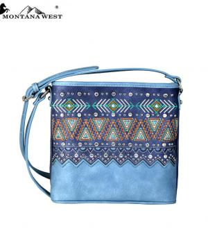 New Arrival :: Montana West Western Aztec Collection Crossbody