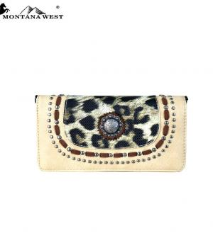 New Arrival :: Montana West Concho Collection Wallet/Crossbody