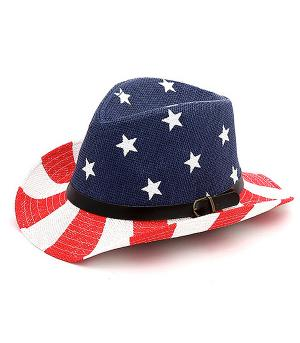 New Arrival :: American Flag Fedora Hat