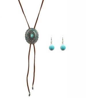 New Arrival :: Slide Concho Necklace Set