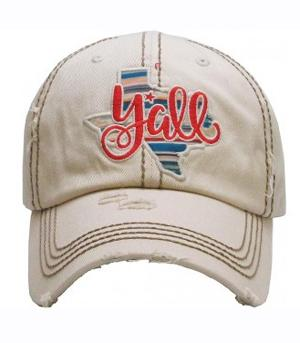 New Arrival :: Texas State Y'all Ballcap