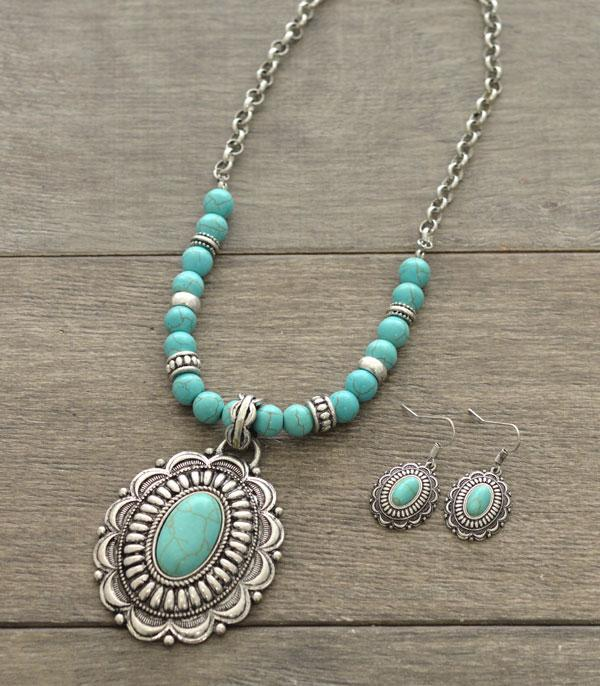 New Arrival :: Navajo Style Concho Necklace Set