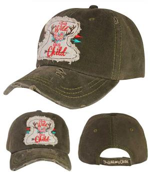 New Arrival :: Stay Wild My Child Ballcap