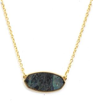New Arrival :: Trendy Gemstone Necklace