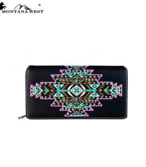 New Arrival :: Montana West Aztec Collection Wallet