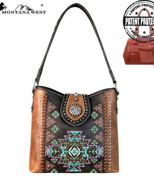 New Arrival :: Montana West Aztec Collection Hobo