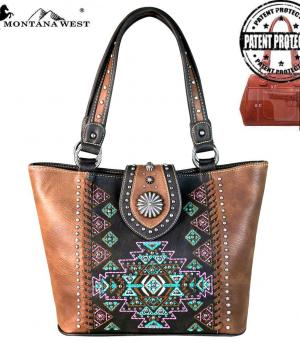 New Arrival :: Montana West Aztec Collection Tote