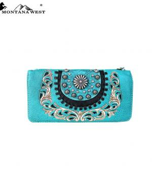 New Arrival :: Montana West Concho Collection Wallet