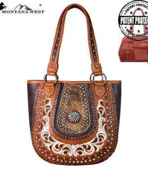 New Arrival :: Montana West Concho Collection Tote