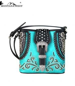 New Arrival :: Montana West Buckle Collection Crossbody