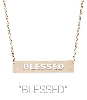 New Arrival :: Blessed Necklace