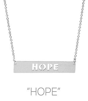 New Arrival :: Hope Necklace
