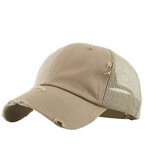 New Arrival :: Solid Color Mesh Back Hat