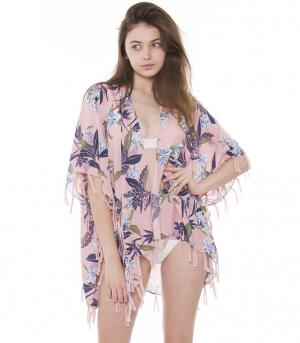 New Arrival :: Floral Print Topper/Cover Up