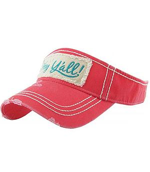 New Arrival :: Hey Y'all Visor
