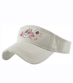 New Arrival :: Steer Head Embroidered Visor