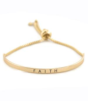 New Arrival :: Faith Bar Bracelet