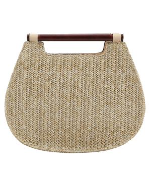 New Arrival :: Woven Straw Fashion Satchel