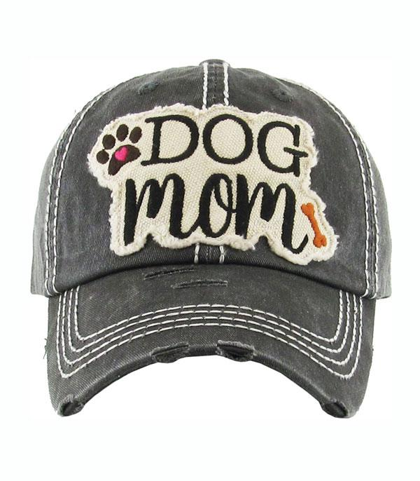 New Arrival :: Dog Mom Vintage Ball Cap
