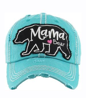 New Arrival :: Mama Bear Vintage Ball Cap