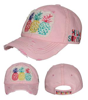 New Arrival :: Hello Summer Pineapple Vintage Hat