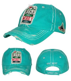 New Arrival :: Hike More Worry Less Vintage Hat