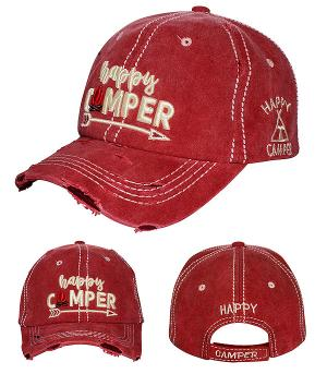 New Arrival :: Happy Camper Vintage Hat