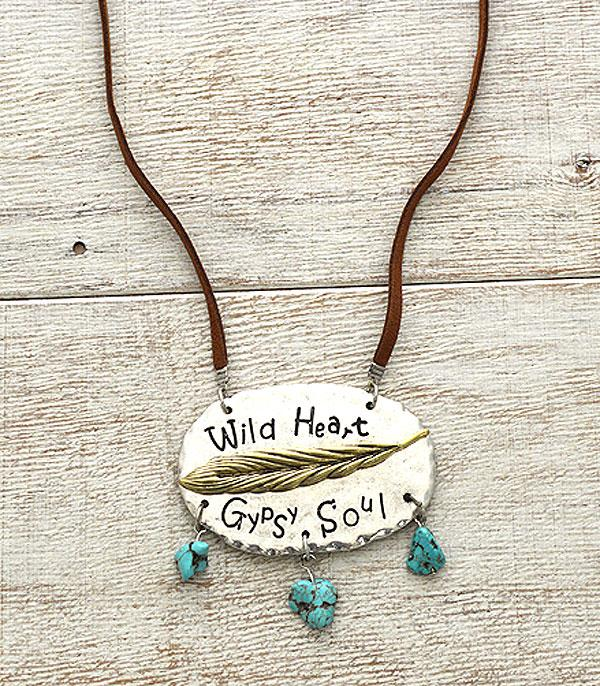 New Arrival :: Wild Heart Gypsy Soul Necklace