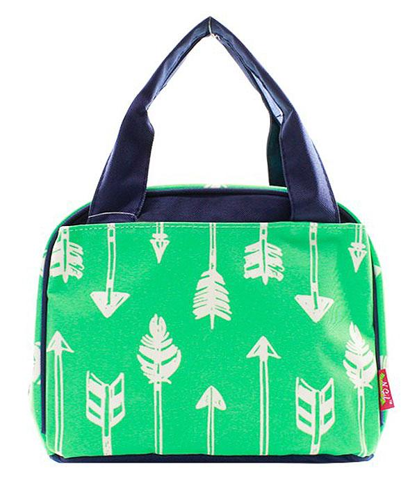 BACKPACKS | LUNCH BAGS :: Arrow Print Insulated Lunch Bag