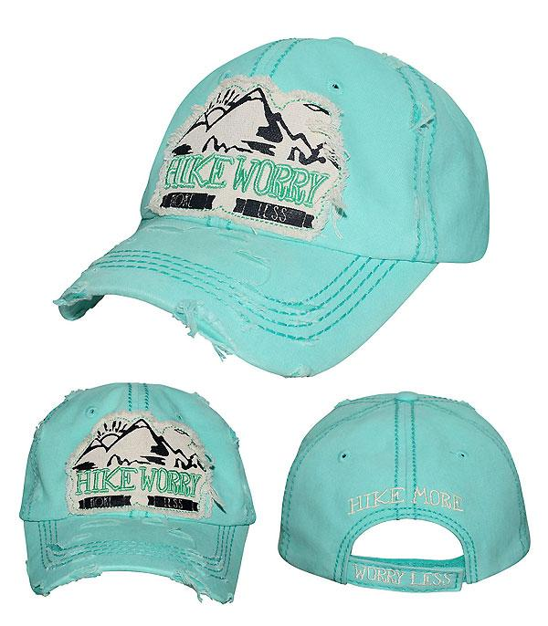 New Arrival :: Hike More Worry Less Hat