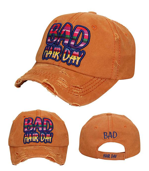 New Arrival :: Serape Bad Hair Day Hat