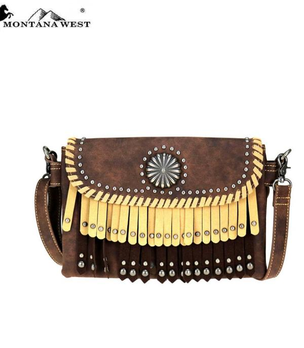 New Arrival :: Montana West Concho Crossbody/FannyPack