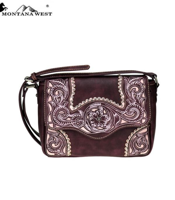 New Arrival :: Montana West Embroidered Collection Crossbody