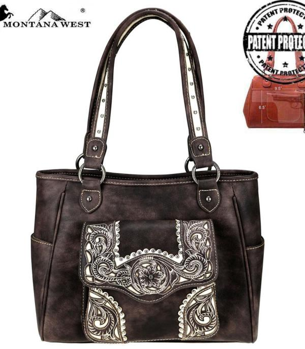 New Arrival :: Montana West Embroidered Collection Tote