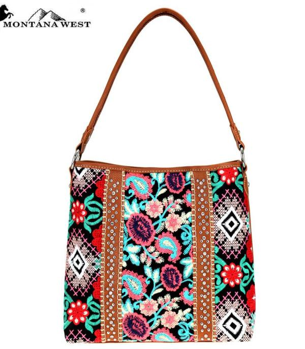 New Arrival :: Montana West Embroidered Collection Hobo