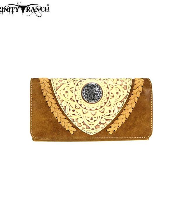 New Arrival :: Trinity Ranch Tooled Collection Wallet
